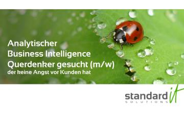 Business Intelligence Consultant gesucht